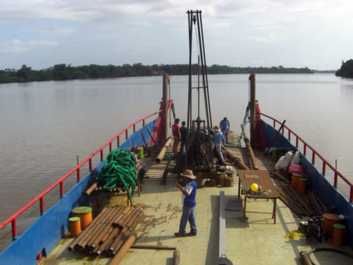 Hydraulic and Geotechnical studies onshore and offshore for Agricultural Facilities in Caños Mánamo and Manamito, Delta Amacuro